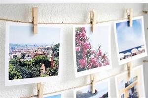 Fotos Aufhängen Schnur : gast beitrag diy polaroid collage sch n bei dir by depot ~ Sanjose-hotels-ca.com Haus und Dekorationen
