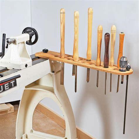 swing arm lathe tool holder woodworking plan  wood magazine