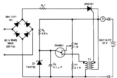 battery chargercircuit diagram world