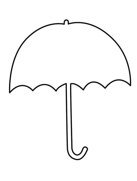 umbrella clipart coloring pages umbrella day coloring