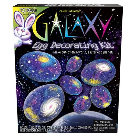 egg coloring kit galaxy egg dye coloring kit by easter unlimited walmart