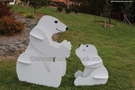 momma  baby polar bears woodchuckcanuckcom