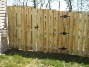 Wood Fence Gates