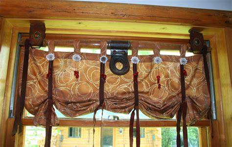log cabin curtains