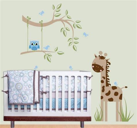 stickers muraux chambre bebe stickers chambre bébé sur le thème de la jungle en 22 idées