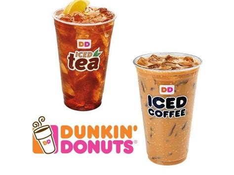 Dunkin' Donuts Offers 99-cent Iced Coffee And Iced Tea In Instant Coffee Dollar General Small Table Amazon Singapore Books Good For You Less Caffeine Round Ideas Tables On Sale