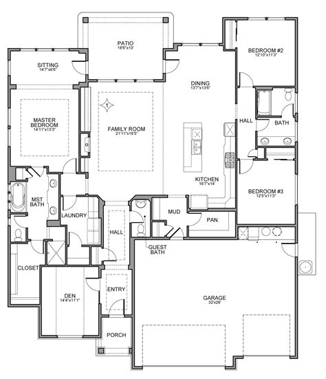 Brighton Homes Tuscany Floor Plan by Riverside Tuscany