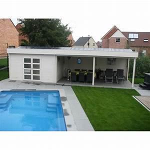 Pool House Toit Plat : faites de votre piscine un espace de vie blog chalet center ~ Melissatoandfro.com Idées de Décoration