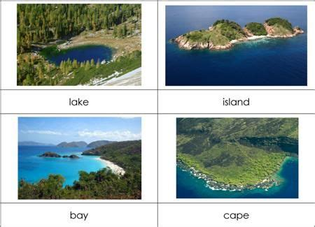 24 best geography land and water forms features images
