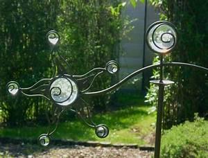 Windspiel Garten Metall : windspiel wippe gartenstecker sonne garten m 8 glaskugeln ~ Lizthompson.info Haus und Dekorationen