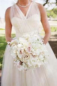 Pale Pink And White Bridal Bouquet Elizabeth Anne