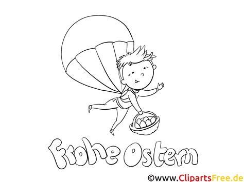 fallschirm springen malvorlage kostenlos zu ostern