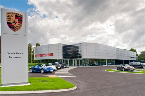 porsche dealership new porsche centre opens in portsmouth