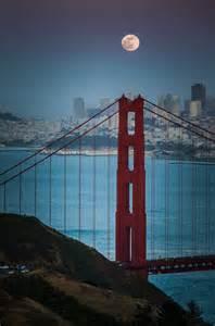 Moon Over San Francisco