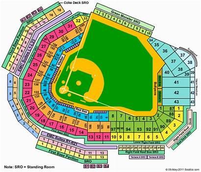 Fenway Seating Park Chart Sox Boston Baseball
