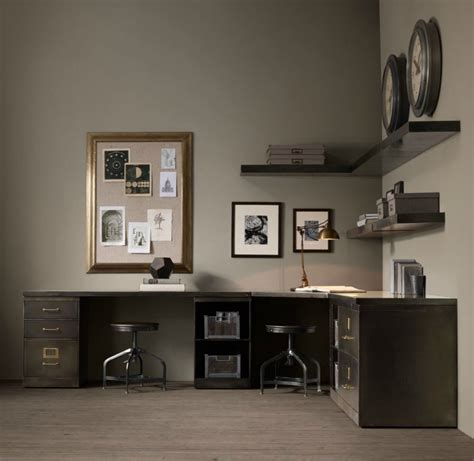 restoration hardware office desk industrial design finds from furniture to accessories