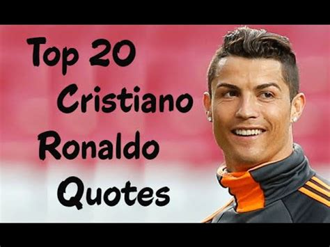 Top 20 Famous Inspirational Quotes By Cristiano Ronaldo