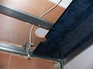 fixation fourrure faux plafond a antibes maison devis en With carrelage adhesif salle de bain avec plafond led ciel étoilé