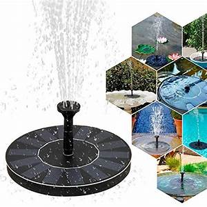 Fontaine Solaire Pour Bassin : fontaine solaire pompe achat vente de fontaine pas cher ~ Dailycaller-alerts.com Idées de Décoration