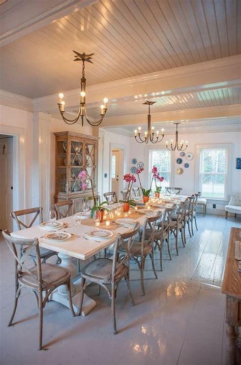 unassumingly chic farmhouse style dining room ideas