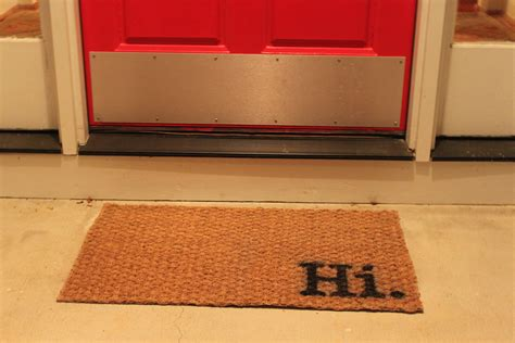 Front Door Mats by Designer Front Door Mats Home Design