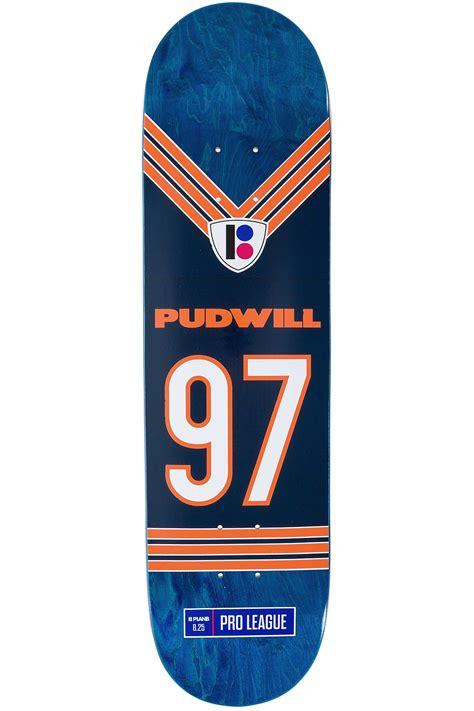 "Plan B Pudwill Super Roll Pro Spec 825"" Deck (blue) Buy"