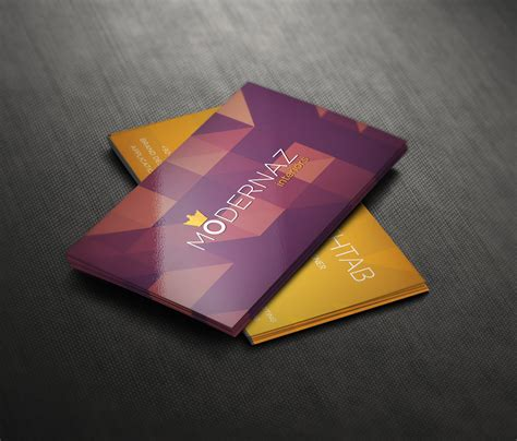 premium quality business card design psd