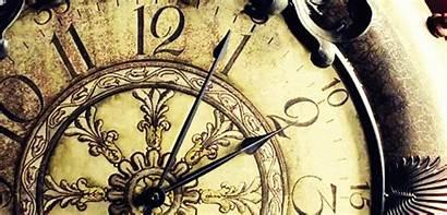 Clock Animated Grandfather Gifs Clocks Transparent
