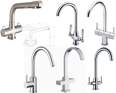 Modern & Traditional Style Lever Control Kitchen Mixer