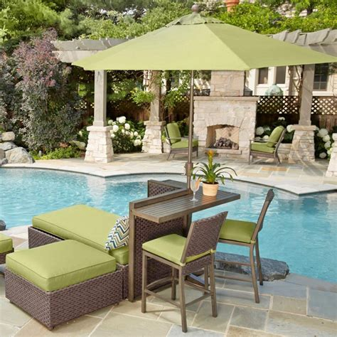 sunbrella outdoor patio sets furniture castelle manufacturers patiosusa sunbrella