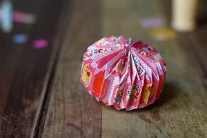 Origami Boule De Noel : diy paper things pretty cachemire soie ~ Farleysfitness.com Idées de Décoration