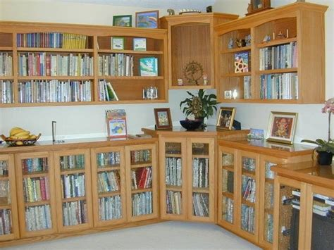 Oak Bookcases With Glass Doors by Crafted Oak Bookcase With Glass Doors And Top