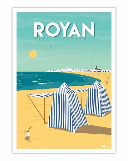 Poster Royan Marcel Travel