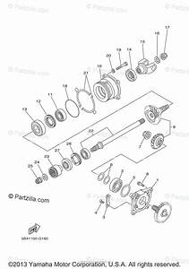 Yamaha Side By Side 2011 Oem Parts Diagram For Middle