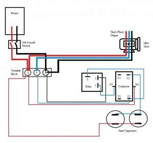 Gallery Phoenix Phase Converter Wiring Diagram Download
