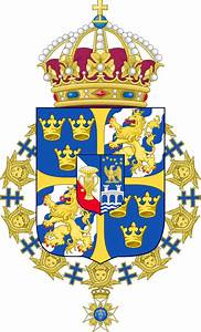 File Greater Coat Of Arms Of Sweden  Without Ermine