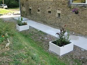 Jardiniere Beton Cellulaire : terrasse beton cellulaire nos conseils ~ Melissatoandfro.com Idées de Décoration