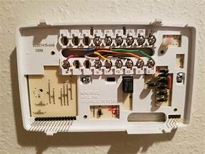 Diagram  Going From Trane Manual Thermostat To Honeywell