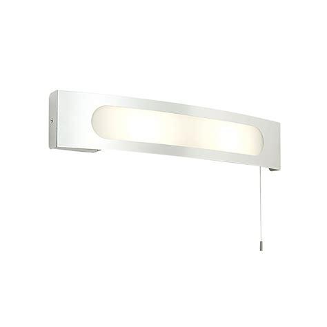 endon 39148 convesso bathroom shaver socket wall light ip44