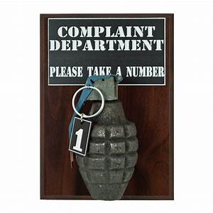 Complaint Department Pineapple Grenade