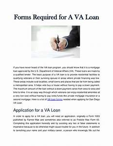 forms required for a va loan authorstream With documents needed for a mortgage