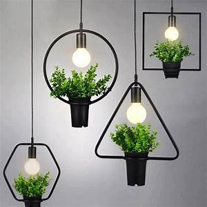 Plant, Single, Head, Pendant, Lamp, Kitchen, Restaurants, Bar, Decorative, Home, Lighting, Fixture, Creative