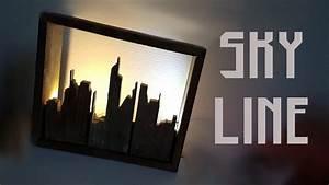 Lampe En Palette : fabriquer une lampe skyline en palette youtube ~ Voncanada.com Idées de Décoration