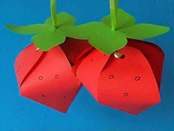 basteln sommer grundschule erdbeeren basteln im sommer basteln gestalten
