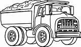 Coloring Truck Dump Transport Boy Printable Sheets Nice Paw Patrol sketch template