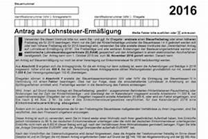 Steuererklärung Online Ausfüllen : formular lohnsteuererm igung lst3 2017 als download ~ Frokenaadalensverden.com Haus und Dekorationen