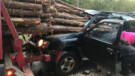 Georgia driver escapes with minor injuries after freak ...