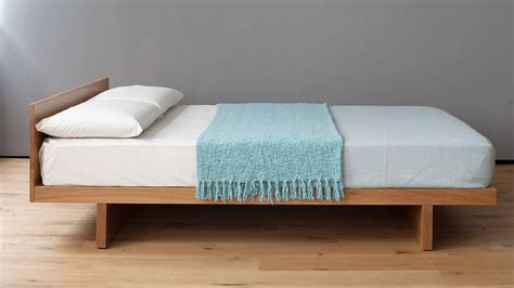 Kyoto Japanese Bed With Headboard  Natural Bed Company