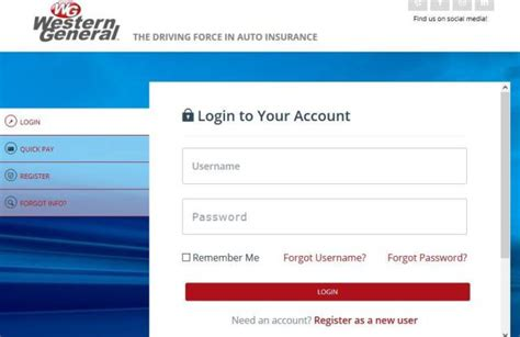 Pay online and customer service: Western General Insurance Login To Make a Payment