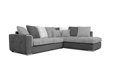 coussin canapé d angle acheter votre canapé d 39 angle moderne coussins jetés gris